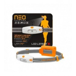 LAMPADA DA TESTA LED LENSER NEO ORANGE