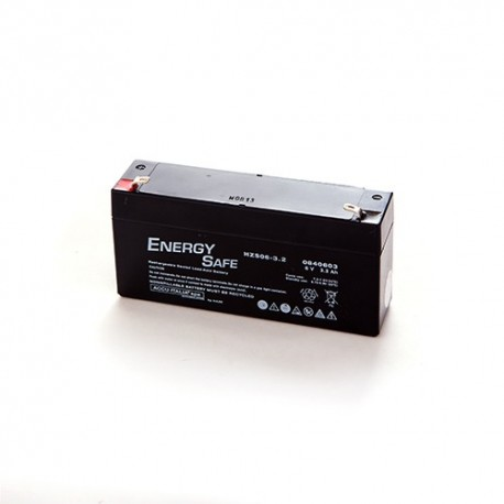BATTERIA AL PIOMBO ENERGY SAFE 6V 3,2AH