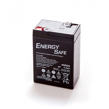 BATTERIA AL PIOMBO ENERGY SAFE 6V 4,5AH