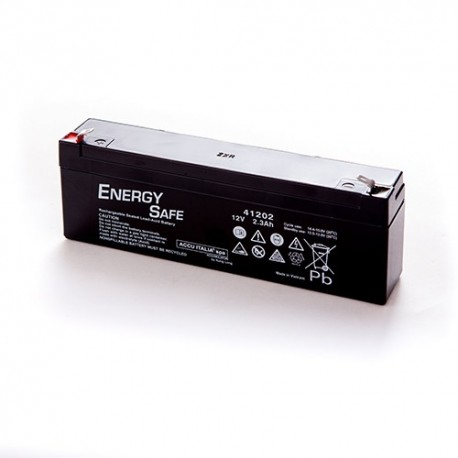 BATTERIA AL PIOMBO ENERGY SAFE 12V 2,3AH