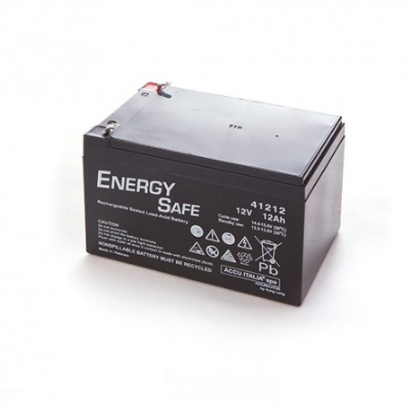 BATTERIA AL PIOMBO ENERGY SAFE 12V 12AH