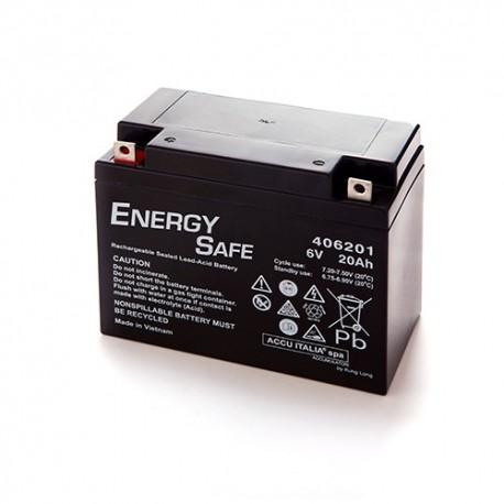 BATTERIA AL PIOMBO ENERGY SAFE 6V 20AH