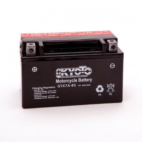 BATTERIA MOTO KYOTO GTX7A-BS
