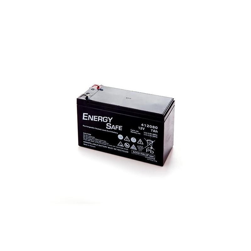 BATTERIA AL PIOMBO ENERGY SAFE 12V 7AH - Il Ricaricabile