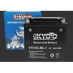 BATTERIA MOTO KYOTO YTX16-BS