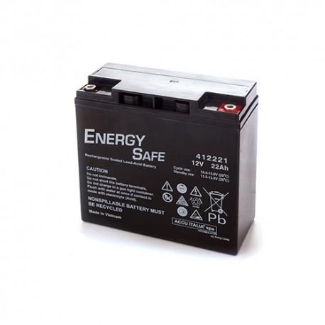 BATTERIA AL PIOMBO ENERGY SAFE 12V 22AH STARTER