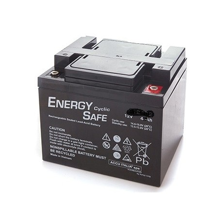 BATTERIA AL PIOMBO ENERGY SAFE 12V 40AH