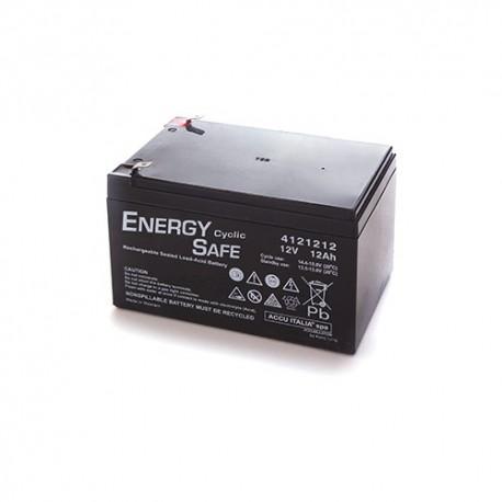 BATTERIA AL PIOMBO ENERGY SAFE 12V 12AH CICLICA