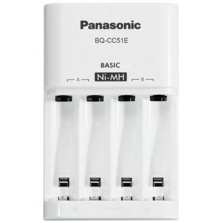 CARICABATTERIE PANASONIC ENELOOP BQ-CC18/BQ-CC51E