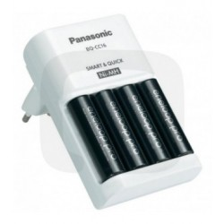 CARICABATTERIE PANASONIC ENELOOP BQ-CC16 INCLUSE 4 AA 2500MAH
