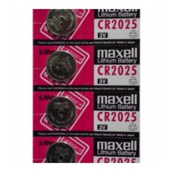 PILA AL LITIO BOTTONE MAXELL 3V FORMATO CR2025