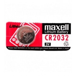 PILA AL LITIO BOTTONE MAXELL 3V FORMATO CR2032