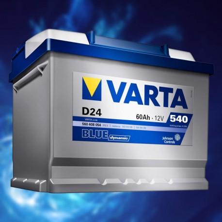 BATTERIA AUTO VARTA 12V 60AH
