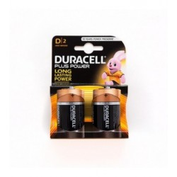 PILA ALCALINA DURACELL FORMATO D BLISTER 2PZ.