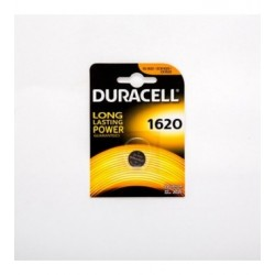 PILA AL LITIO BOTTONE DURACELL 3V FORMATO CR1620