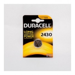 PILA AL LITIO BOTTONE DURACELL 3V FORMATO CR2430