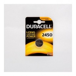 PILA AL LITIO BOTTONE DURACELL 3V FORMATO CR2450