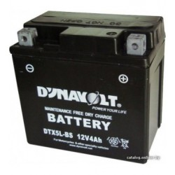 BATTERIA MOTO DYNAVOLT YTX5L-BS
