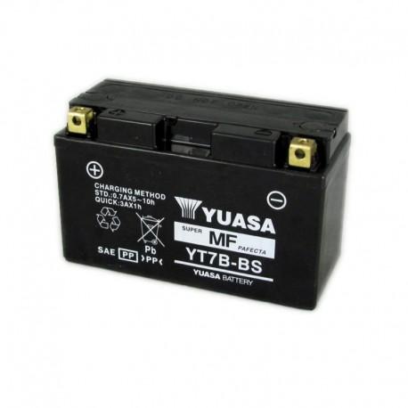 BATTERIA MOTO YUASA YT7B-BS