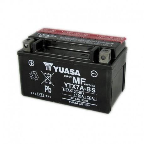 BATTERIA MOTO YUASA YTX7A-BS