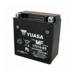 BATTERIA MOTO YUASA YTX16-BS