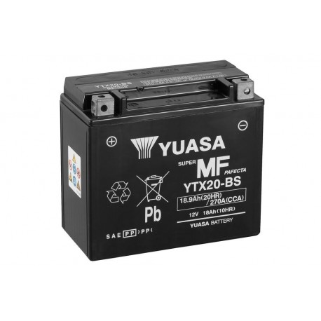 BATTERIA MOTO YUASA YTX20-BS