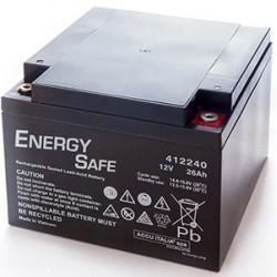 *BATTERIA AL PIOMBO ENERGY SAFE 12V 26AH